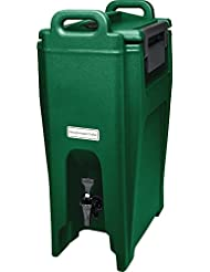 Cambro UC500519 Green Ultra Camtainer 5 25 Gallon Insulated Beverage Dispenser