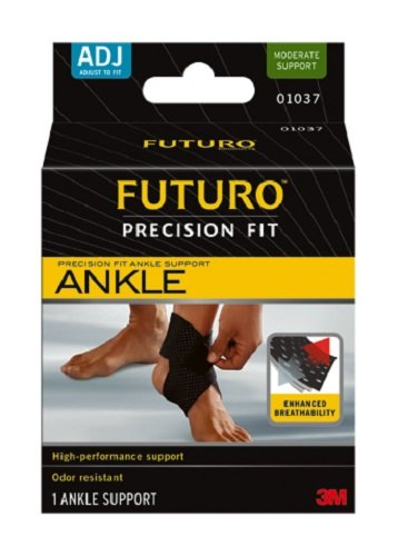 Futuro Precision Fit Ankle Support, Moderate Support, Adjust to Fit by Futuro
