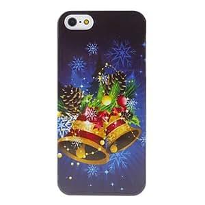 HC-Serie de Navidad hermosa Cadencia de timbre duro caso para iPhone 5/5S