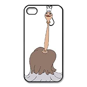 iphone4 4s Phone Case Black Beauty and the Beast Fifi the Featherduster CYL8678117
