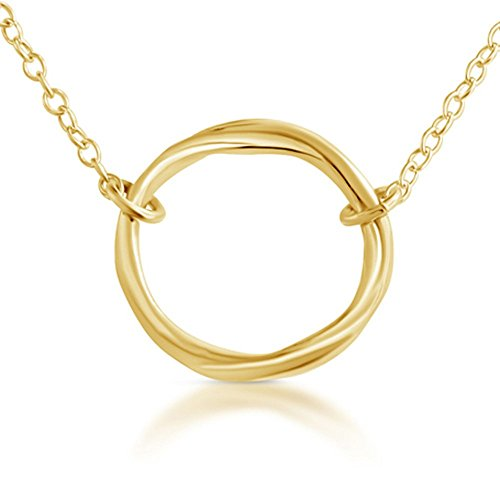 gold-plated-925-sterling-silver-karma-ring-circle-of-life-necklace-14-inches