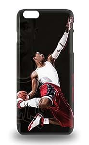 Premium Tpu NBA Chicago Bulls Derrick Rose #1 Cover Skin For Iphone 6 Plus 3D PC Soft Case