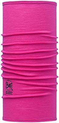 Original Buff Solid Rose Gorro Multicolor Unisex Adulto Talla /Única
