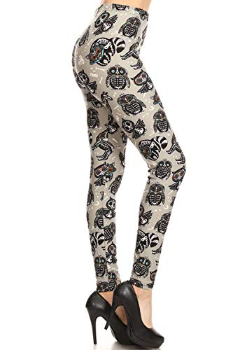 S610-PLUS Nocturnal Xrays Print Fashion