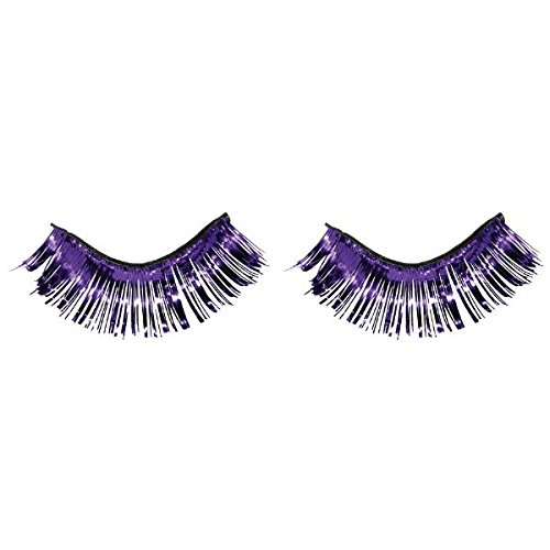 Amscan Tinsel Eyelashes, Party Accessory, Purple]()