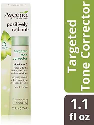 Aveeno Positively Radiant Targeted Tone Corrector, 1.1 Fl. Oz