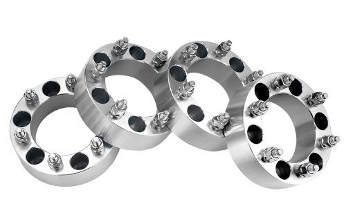 4 Toyota Tacoma Wheel Spacers Adapters 2 inch thick fits ALL Toyota Tacoma Models easywheel