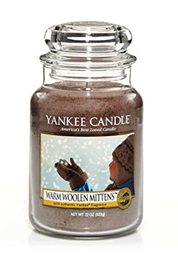 Yankee Candle 22oz Jar - Warm Woolen Mittens ()