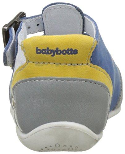 babybotte Pluto - Zapatos de primeros pasos Bebé-Niñas Azul (Bleu)