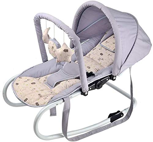SYue Baby Rocking Chair Cradle Baby Comfort Chair Balance Type Lightweight Rocking Chair Cradle Bed Recliner Baby Carriage