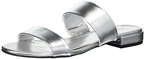 Rampage Women's Ram-Isla Sandal, Silver/Metallic, 7.5 M US