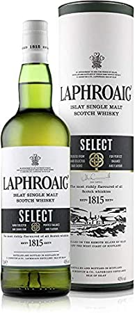 Laphroaig Select Single Malt Whisky Escoces Ahumado 40%, 700ml