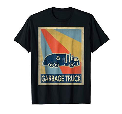 Vintage style Garbage truck ()