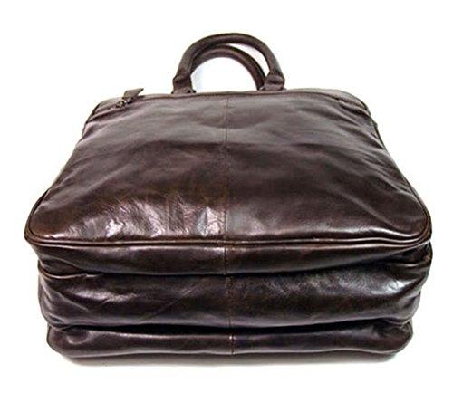 Zenness hombres de negocios de Cuero bolsa de cartera de los hombres bolsa de mensajero