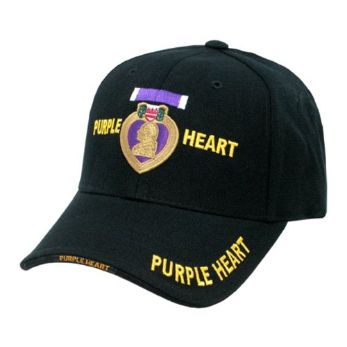 United States US Military Official Purple Heart Baseball Cap