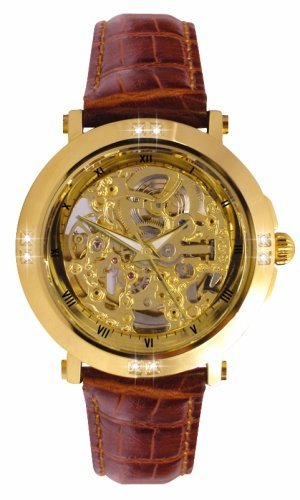 Sekonda 1101.27 Mens Leather Strap Automatic Watch