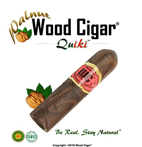 Humboldt Brands® Stogie Pipe - Discreet Cigar Pipe - Original Organic Natural Tobacco Smoking Pipe (Walnut, 3 - Tobacco Cuban Seed
