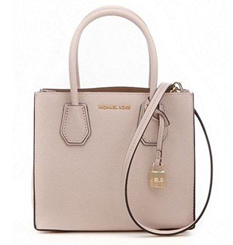 MICHAEL Michael Kors Women's Mercer Messenger Bag, Soft Pink, One Size by MICHAEL Michael Kors