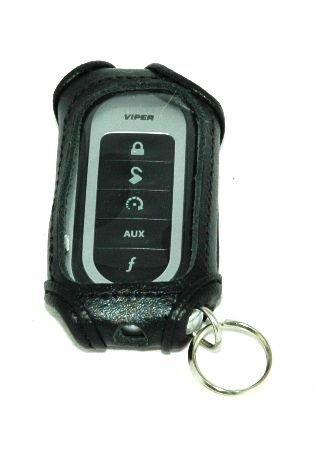 Black Leather Remote Case for Viper 7251V 7152V 7652V 7341V - Electronics Discount