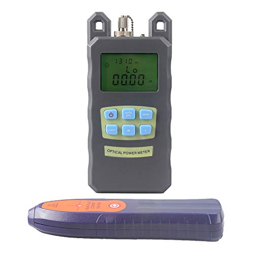 SM SunniMix A Set -70dBm~+10dBm 850~1625nm Optical Power Meter Tester FC SC Handheld Optical Power Meter + 10mW Visual Fault Locator Pen by SM SunniMix (Image #5)