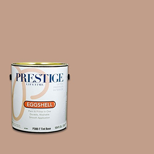 - Prestige, Browns and Oranges 3 of 7, Interior Paint and Primer In One, 1-Gallon, Eggshell, Framed