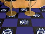 Fan Mats Sacramento Kings Carpet Tiles, 18'' x 18'' Tiles