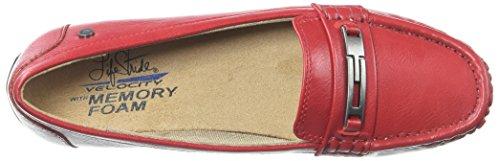 Lifestride Vrouwen Viva Slip-on Loafer Brand Rood
