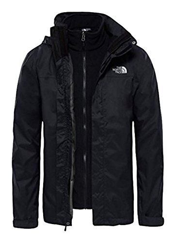 Uomo tnf Black Giacca Ii Evolve Tnf North Resolve Triclimate The Face Black M UwYqx7CnE1
