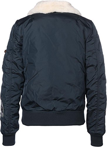 Alpha Donne Wmn Industries Blue Patch Giacca Bomber Blu Iii Sage Injector Di Green rep r5rwZn0