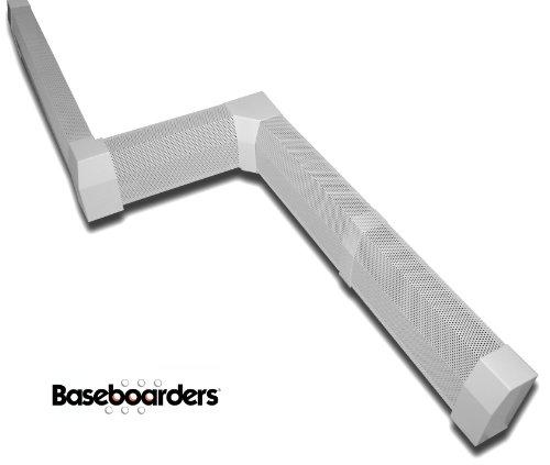 Baseboarders 174 Premium Easy Slip On Baseboard Heater Covers