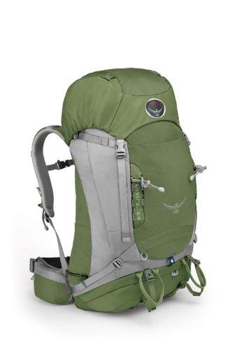 Osprey Packs Kestrel 68 Backpack (Conifer Green, Small/Medium), Outdoor Stuffs