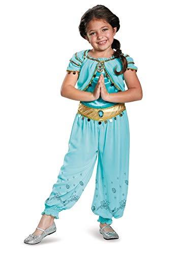 Jasmine Prestige Disney Princess Aladdin Costume, -