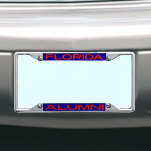 NCAA Florida Gators License Plate Frame Alumni by Stockdale