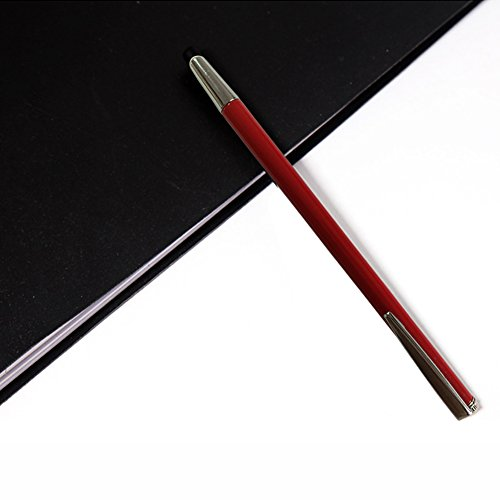 Pointer - Teachers Pointer - Teaching Pointer - Hand Pointer Extended Length, Presenter Whiteboard Pointer, Black Matte with Chrome Trim (Red) by Day Tip (Image #5)