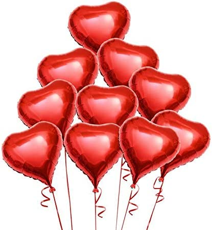 Mylar Heart Balloon