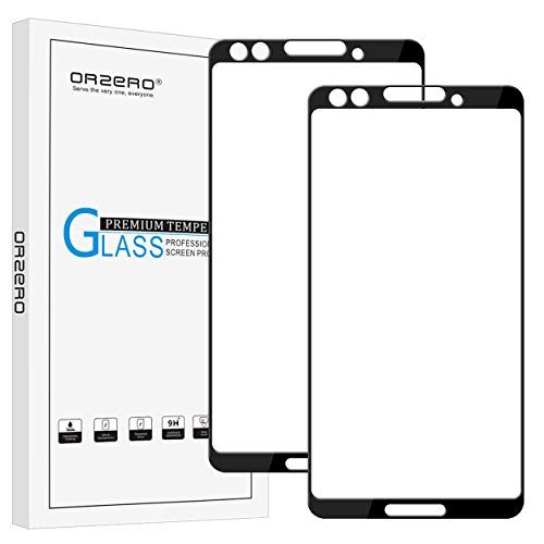 [2 Pack] Orzero for Google Pixel 3 Tempered Glass...