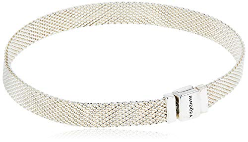 PANDORA Reflexions 925 Sterling Silver Bracelet, Size: 20cm, 7.9 inches – 597712-20