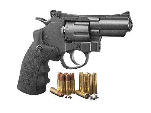 Price comparison product image Crosman SNR357 CO2 Dual Ammo Full Metal Revolver air pistol