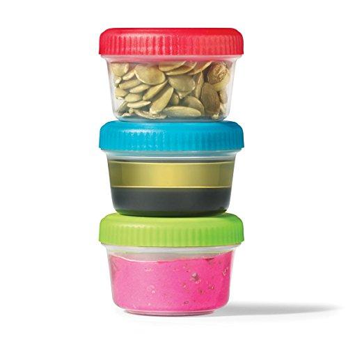 c7e6b26ff8e1 Starfrit 095461-004-0000 Easy Lunch Set of 3 Mini Containers, Multicolored