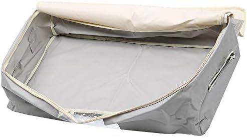 Home Storage Faltbare Oxford Cloth Quilt Container Decke Kleidung Organizer wasserdichte Aufbewahrungstasche fuhuan (Color : Dark Gray)