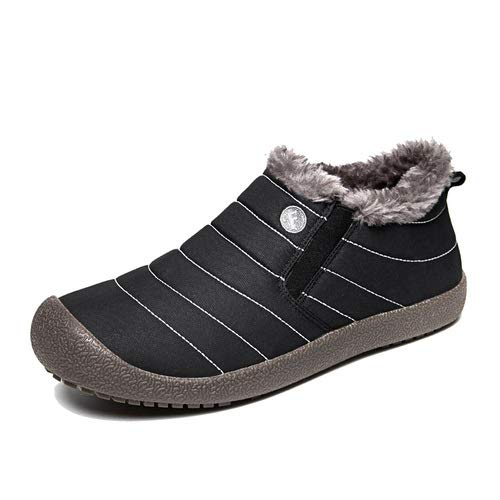 Enly-Winter-Snow-Boots-Slip-on-Water-Resistant-Booties-for-Men-Women-Kids-Anti-Slip-Lightweight-Ankle-Boots-with-Full-Fur