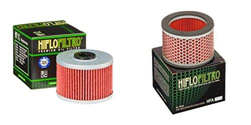 Oil and Air Filter Kit for HONDA NX650 J,K,L,M,N,P,R Dominator RD02 88-94 HIFLO FILTRO