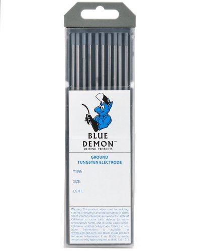 "Blue Demon TE2C X .040 X 7"" Tungsten Electrode, 10-Pack"