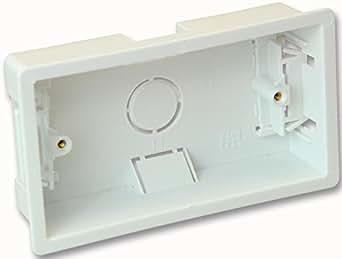 PIKE y CO® ELECTRONICS PKE34795doble portamecanismos caja w/min 3yr Garantía–[unidades: 3]