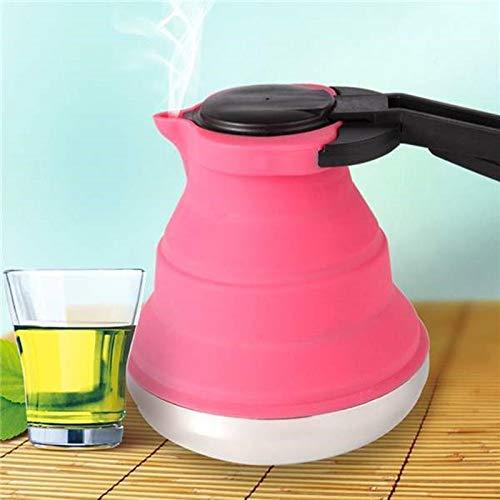 Plegable Agua Cafetera Cocina Silicona Tetera para Viaje Exterior ...
