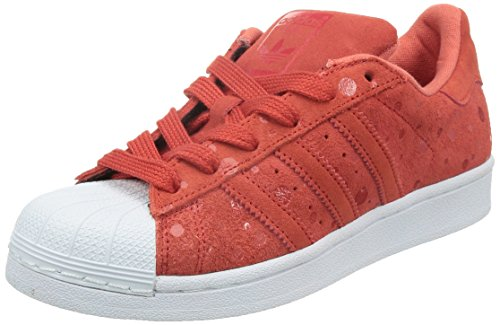 adidas Superstar Unisex Sneakers Rojo / Blanco
