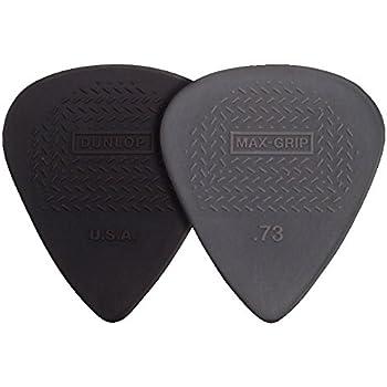 Dunlop 449P.73 Max-Grip Nylon Standard, Gray, .73mm, 12/Player's Pack