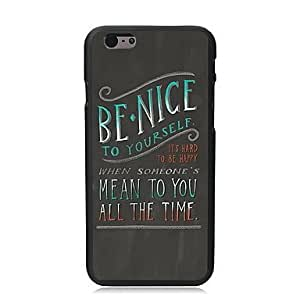 ZXSPACE Be Nice Design PC Hard Case for iPhone 5C