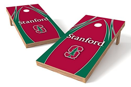 Wild Sports NCAA College Stanford Cardinals 2' x 4' V Logo Authentic Cornhole Game Set [並行輸入品]