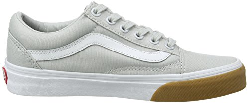 Gum Canvas Old Unisex Bumper Adulto White Glacier Zapatillas Gris Skool Vans True Gray afq4wTgw